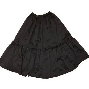 Dresses & Skirts - Full black formal maxi skirt